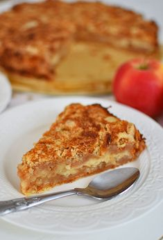 Plum Cake, Apple Recipes, Cakes And More, French Toast, Food And Drink, Sweets, Snacks, Vegan, Baking