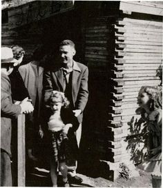 By 1950, Knott's Berry Farm had become one of the most popular tourist destinations in Orange County.  In this photograph, Coach Dick Sterling, coach of the FJC golf team, and his family enjoy Ghost Town, a replica of old gold mining towns.  Other amusement sites popular with FJC students at the time were Disneyland Park in Anaheim, which opened in 1955, and the Movieland Wax Museum in Buena Park, which opened in 1962.