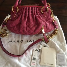 Authentic Marc Jacobs quilted Cecilia bag Here is another MJ bag I never got to wear. Bought this from Nordstrom. Brand new with tag. Comes with dustbag. Please ask all questions before buying. Let me know if you need more pictures. No trades. Thank you! Marc Jacobs Bags
