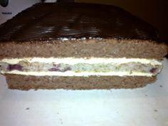 Višňovo-orechové rezy (fotorecept) - obrázok 14 20 Min, Cheesecake, Desserts, Food, Basket, Tailgate Desserts, Deserts, Cheesecakes, Essen