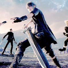 "allenzwalker: "" Noctis Lucis Caelum (⺣◡⺣)♡* "" Noctis Final Fantasy, Noctis Lucis Caelum, Walking Tall, Perfect Strangers, Fantasy Pictures, Fantasy World, Tokyo Ghoul, Finals, Video Games"