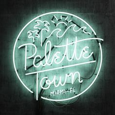 Neon Type & Lettering Collection on Typography Served Typography Served, Creative Typography, Typography Letters, Typography Logo, Types Of Lettering, Hand Lettering, 3d Type, Neon Logo, Neon Lighting