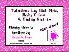 FREE What could be sweeter than adding some fun learning to your Valentine's Day? Your students will love working on these rhyming riddles that promote HOTS. #CCSS #Gifted #HinkPinks #Valentine'sDay #criticalthinking #higherorderthinkingskills #enrichment #BarbEvans #itsabouttimeteachers