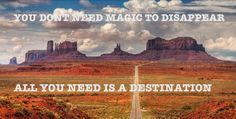 You dont need magic to disappear al you need is a #destination #goamerika #amerika