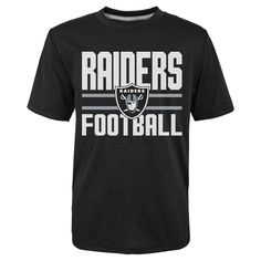 T-Shirt Oakland Raiders Team Color XL, Boy's, Multicolored