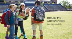 L.L.Bean has 60% off kids apparel. Pay with Benefit and get an additional 10% rebate.