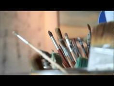 Susan Wallis, Encaustic Painter - YouTube