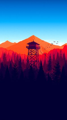 Kunst und Illustration Illustrator Olly Moss' beautiful artworks underpin the coolest game in the wo Art And Illustration, Good Phone Backgrounds, Iphone 7 Wallpapers, Simple Wallpapers, Best Wallpapers For Iphone, Minimalist Desktop Wallpapers, Vintage Wallpapers, Latest Wallpapers, Pretty Wallpapers