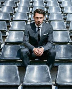 "HUGO BOSS on Instagram: ""Game changer. It's all to play for in tonight's #europaleague match - good luck to Mats Hummels! #bosssports #fcpbvb"""