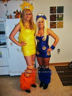 Drop Dead Awesome Sesame Street Gang Costumes ...This website is the Pinterest of costumes