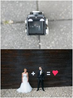 Love this cute wedding picture idea so much !!  #love #wedding #weddingpicture #rolleicord #twobecomeone  by Inga Amshoff Photography
