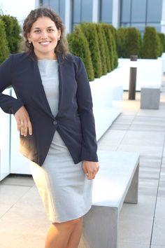 business formal blazer + dress   get more outfit ideas @ skirttheceiling.com
