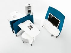 Redefining office design with a new wave of mobility and innovation | Mobi Mobile Workplace | ICF  #EONParters #OfficeDesign