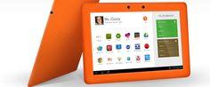 AmplifyTablet to 10-calowy tablet działający pod kontrolą systemu Android, który posiada zmodyfikowany interfejs użytkownika oraz pakiet aplikacji mający pozwolić na wykorzystywanie go podczas lekcji. http://www.spidersweb.pl/2013/03/amplifytablet-tablet-dla-edukacji.html