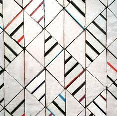 Look at the Geometric tile patten. Now carry on. Tile Patterns, Textures Patterns, Print Patterns, Wall Textures, Surface Pattern, Surface Design, Tile Design, Pattern Design, Abstract Pattern