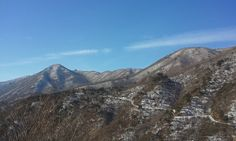 밀양얼음골을 품은 산