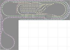 cool layout design Marklin