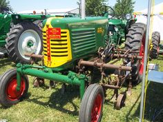 Oliver 77 with middle cultivators