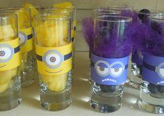 Vasos de Minions. Imprimibles gratis.