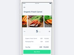 #CaseStudy - App for Agricultural Product - Buying Page by Dwinawan Hariwijaya