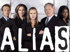 My Favorite Television Series = Alias. Where I became a Jennifer Garner fan.