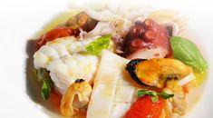 Eintopf von Fisch und Meeresfrüchten