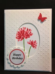 Too Kind, Birthday Card, Stampin' Up!, Handmade Cards, Rubber Stamping