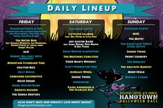Hangtown Halloween Ball Announces Late Night Music & Daily Schedule