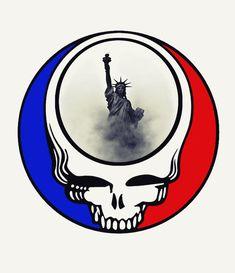 Grateful Dead Logo, Grateful Dead Image, 4 And 20 Blackbirds, Bob Weir, Dead And Company, Sleeping Pills, Face Design, Good Ole, Best Part Of Me