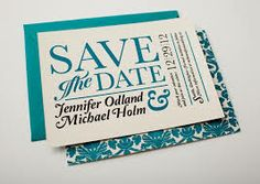 cool save the dates - Google Search