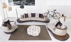 Asorti Kuğu Modern Salon Takımı - Yusev Koltuk Mobilya