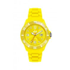 Ice-Watch Yellow Rubber Strap Watch