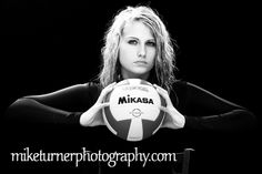 Volleyball Senior Picture