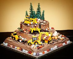 17 Best ideas about Construction Theme Cake on Pinterest | Construction  party, Construction theme and Construction party invitations