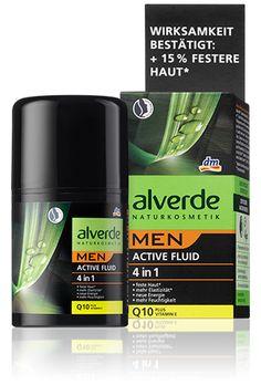 alverde MEN Active Fluid 4 in 1