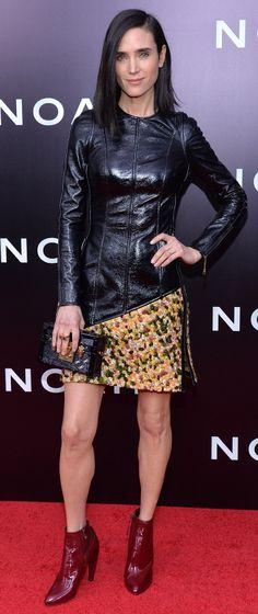 Jennifer Connelly in Louis Vuitton at the Noah premiere.