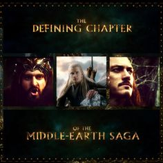 The defining chapter of the Middle-Earth saga