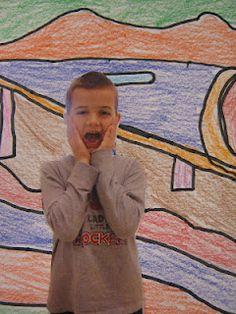 Tales from the Traveling Art Teacher!: Little Screamers in 1st Grade