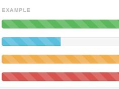 progressTimer is an easy-to-use jQuery plugin which makes use of Bootstrap 3 progress bar component to create an animated progress timer with CSS3 transitions and striped effects.