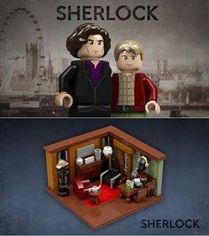 How Amazing is This Sherlock LEGO Set?