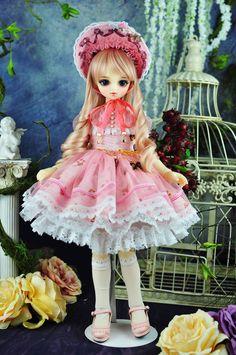 1/4 bjd msd mdd girl doll dress outfits set super dollfie dream luts #SD-131M #blueblooddoll #bjddollclothes