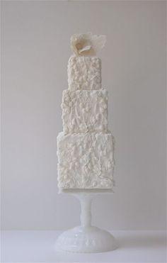 Simple torta de boda