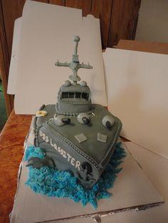 Fantastic 39 Best Navy Cakes Images Navy Cakes Cupcake Cakes Nautical Cake Funny Birthday Cards Online Inifodamsfinfo