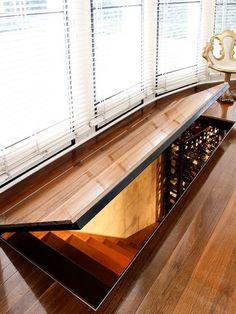Idea for Hidden Rooms - Versteckte Räume Future House, Hidden Spaces, House Goals, Home Interior Design, Pub Interior, Interior Architecture, My Dream Home, Home Projects, Design Projects