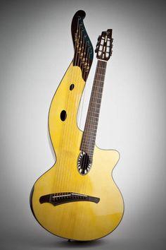 Beardsell Guitars » HG1 Harp Guitar | Handmade Guitars, Harp Guitars, Mandolins, and more.