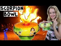 ▶ How to make a Scorpion Bowl - Tipsy Bartender - YouTube