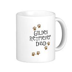 Golden Retriever Dad Coffee Mug