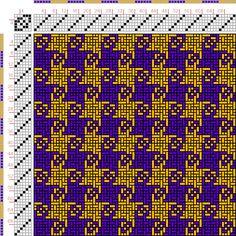 draft image: Figurierte Muster Pl. XIX Nr. 8, Die färbige Gewebemusterung, Franz…