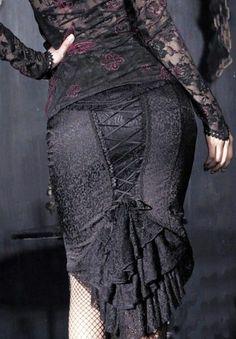 Punk Rave Siren Song Skirt