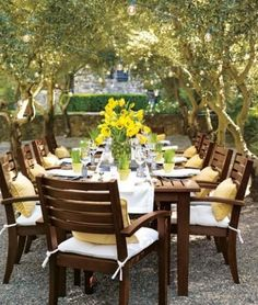 Beautiful Places for Your Outdoor Entertaining